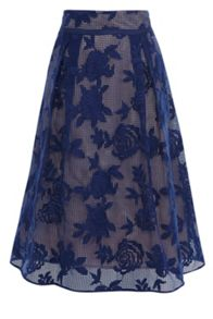 Coast Trellis Lace Skirt