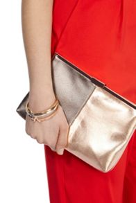 Coast Maisy colour block clutch bag