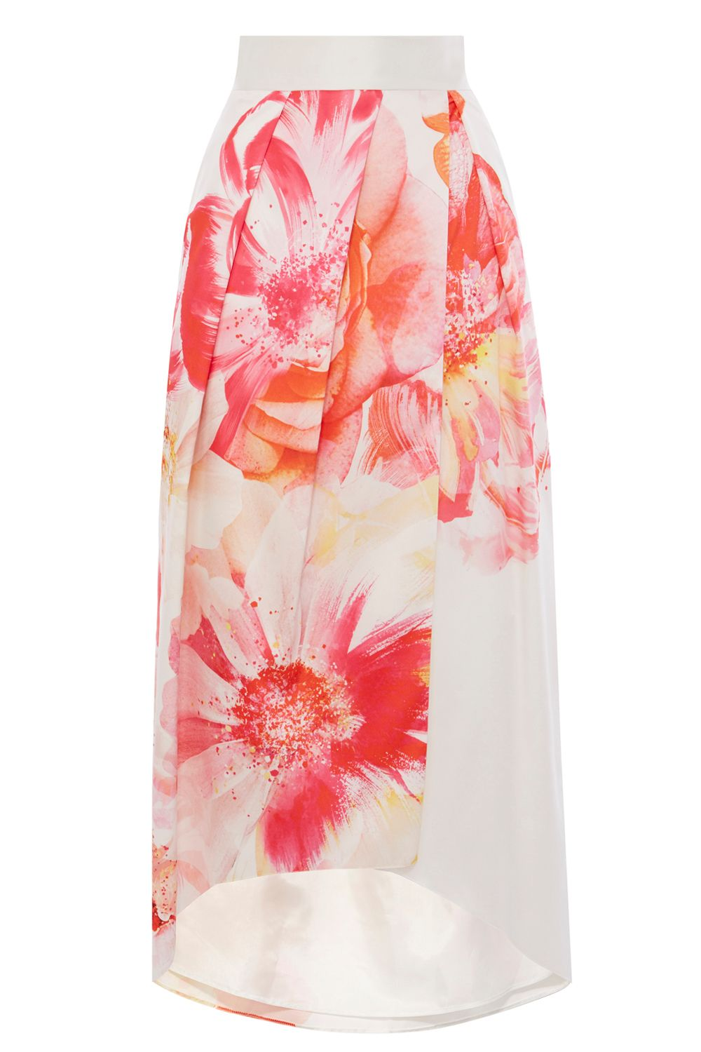 Coast Beaumont Bloom Full Skirt, Coral
