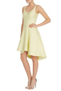 Coast Suzanna jacquard dress