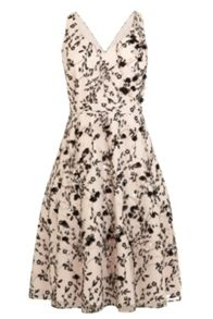 Coast Julia sprig artwork dress