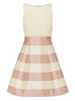 Vancouver stripe nadinia dress