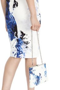Coast Cairo Printed Maisy Clutch