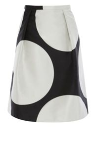 Coast Gwendolyn Spot  A-line Skirt