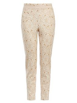 Levitt lace trousers
