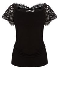 Coast Gerson lace bardot top