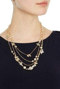 Coast Kamille Multi Pearl Necklace