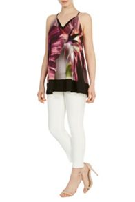 Coast Amalfi print cami top
