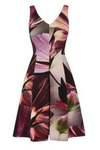 Coast Amalfi print nelly dress