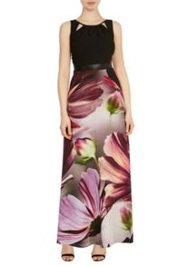 Coast Amalfi print adrie maxi dress