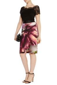 Coast Zanzibar print pencil skirt