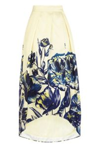 Coast Mina Jacquard Full Skirt