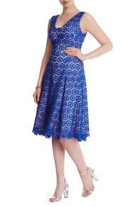 Coast Azaela Lace Bardot Dress