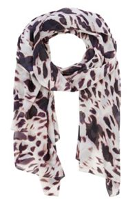Coast Shadow Print Slinky Scarf