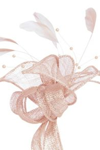 Coast Pearl Bead Fascinator
