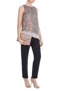 Coast Kalea Asymmetric Sequin Top