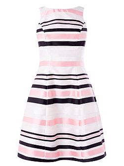 Farah Stripe Millana Dress
