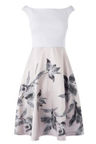 Coast Everly Jacquard Dress