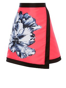 Athens Oversized Floral Skirt