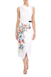 Coast Raiya Print Pencil Skirt