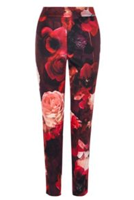 Coast Rouge Print Trousers