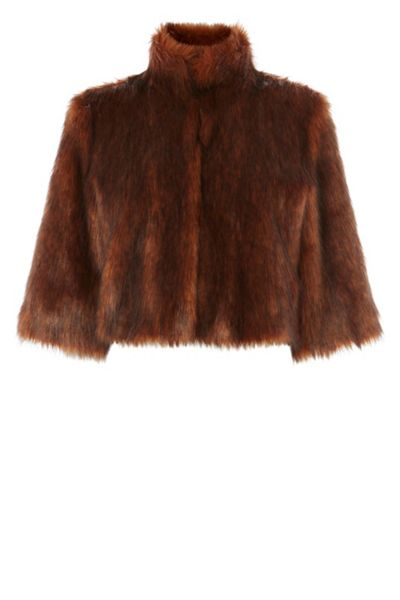 Coast Sadah Faux Fur Cover Up