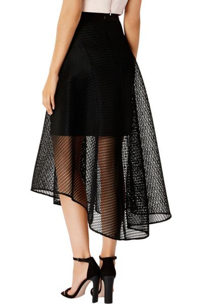 Coast Elin Mesh High Low Skirt