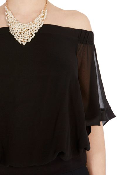 Coast Irkime Bardot Top