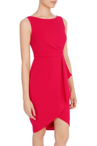 Coast Drew Crepe Dress Petite