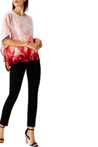 Coast Carolina Rouge Print Top