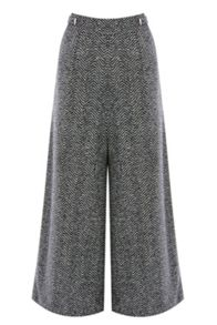 Coast Likka Wide Leg Cropped Trouser