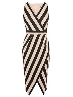 Ishani Stripe Shift Dress