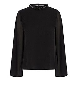Jocette Embellished Top