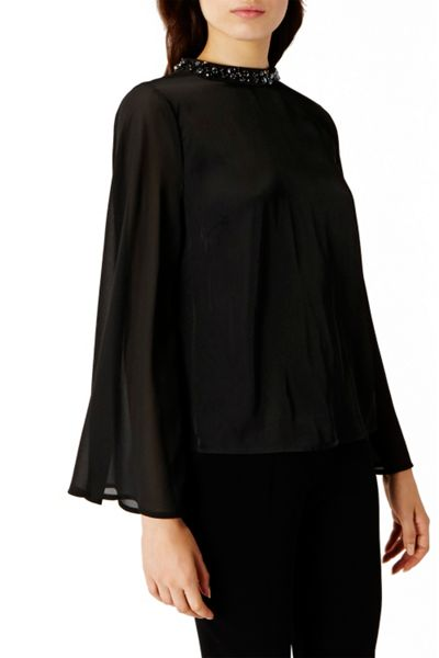 Coast Jocette Embellished Top