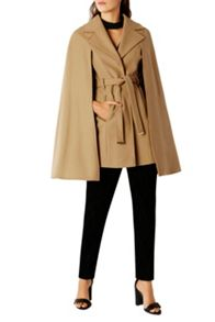 Coast Ostaria Camel Cape Coat