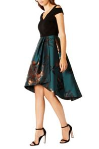 Coast Anya Jacquard Dress Shorter Length