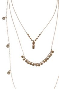 Coast Harmen Multi Chain Necklace