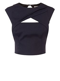 Talori Twist Front Crop Top