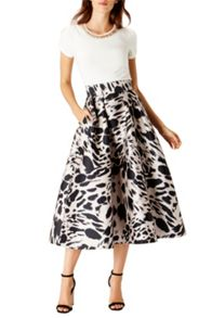 Coast Animal Print Meslita Skirt