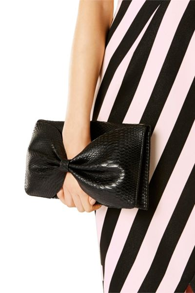 Coast Textured Bow Bag