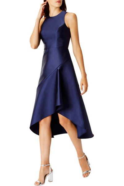 Coast Cara Satin Midi Dress