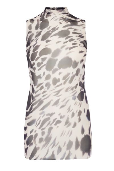 Coast Shay Animal Print Tunic Top