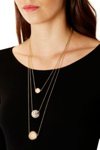Coast Vanda Ball Multi Necklace