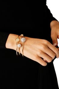 Coast Vanda Ball Triple Bracelet