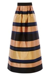 Coast Rita Metalic Maxi Skirt
