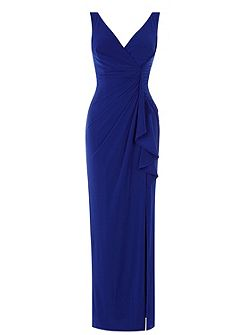 Witney Jersey Frill Maxi Dress