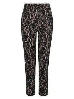 Darwin Flocked Lace Trousers