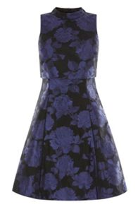 Coast Numero Jacquard Dress