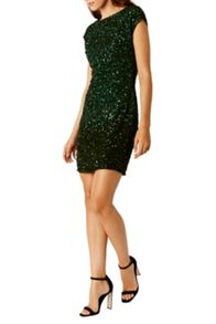 Coast Frankie Ombre Sequin Dress