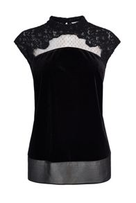 Coast Flya Velvet Top